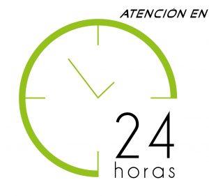 Atención en 24 horas